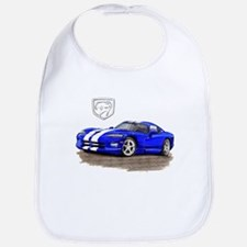 Viper Blue/White Car Bib