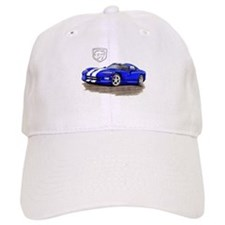 Viper Blue/White Car Baseball Cap