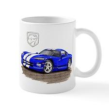 Viper Blue/White Car Mug