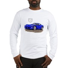 Viper Blue Car Long Sleeve T-Shirt