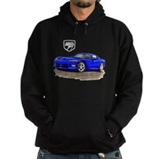 Viper Blue Car Hoodie