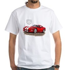 Viper Red/White Car Shirt