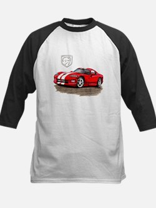 Viper Red/White Car Tee