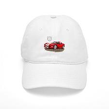 Viper Red/White Car Baseball Cap