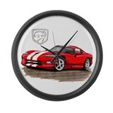 Dodge viper Giant Clocks