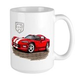 Dodge viper Large Mugs (15 oz)