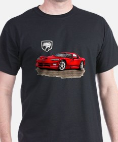 Viper Red Car T-Shirt