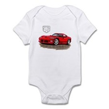 Viper Red Car Infant Bodysuit