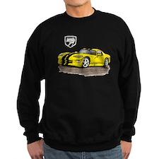 Viper Yellow/Black Car Sweatshirt