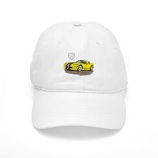 Viper Yellow/Black Car Baseball Cap