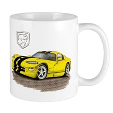 Viper Yellow/Black Car Mug
