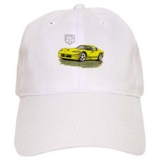 Viper Yellow Car Baseball Cap