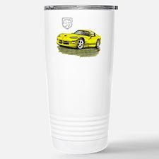 Viper Yellow Car Travel Mug