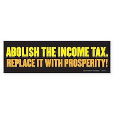 Abolish the IRS Bumper Bumper Sticker
