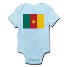 Cameroon Flag Infant Bodysuit