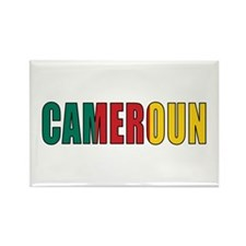 Cameroon Rectangle Magnet (10 pack)