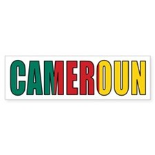 Cameroon Bumper Bumper Sticker