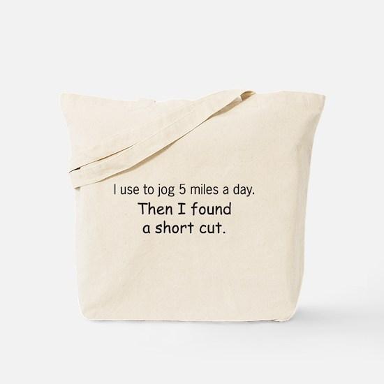 Short cut Tote Bag