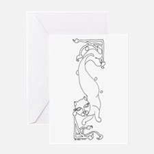 Catfish2 Greeting Card