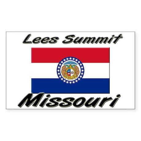 Lees Summit Missouri Rectangle Sticker