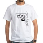 Photographer White T-Shirt
