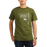 Photographer Organic Men's T-Shirt (dark)