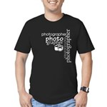 Photographer Men's Fitted T-Shirt (dark)