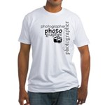 Photographer Fitted T-Shirt