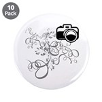 "Camera 3.5"" Button (10 pack)"