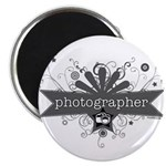 "Photographer 2.25"" Magnet (10 pack)"