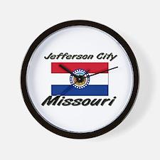 Jefferson City Missouri Wall Clock