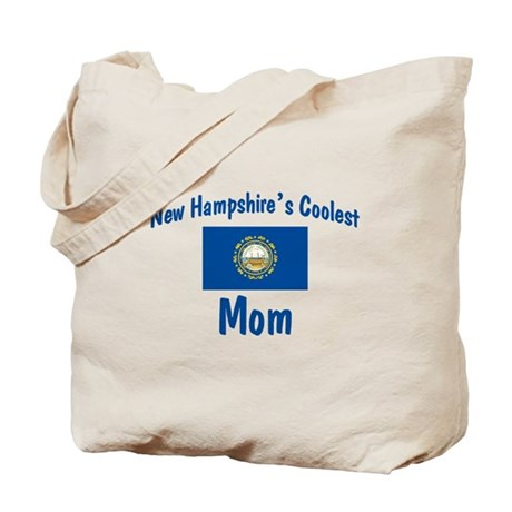 Coolest New Hampshire Mom Tote Bag