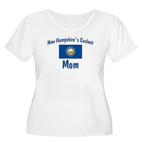 Coolest New Hampshire Mom Women's Plus Size Scoop