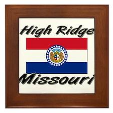 High Ridge Missouri Framed Tile