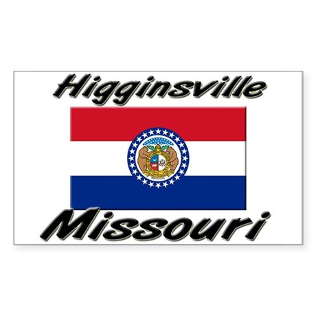 Higginsville Missouri Rectangle Sticker