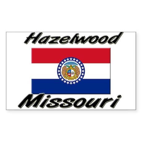 Hazelwood Missouri Rectangle Sticker