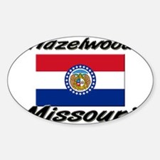 Hazelwood Missouri Oval Decal