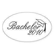 Bachelor 2010 Oval Decal