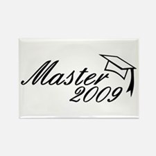 Master 2009 Rectangle Magnet (100 pack)