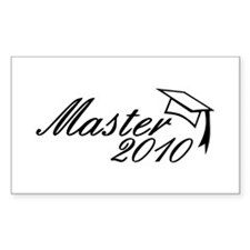 Master 2010 Rectangle Decal