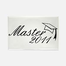 Master 2011 Rectangle Magnet (100 pack)