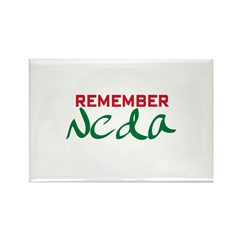 Remember Neda (Iran) Rectangle Magnet (10 pack)