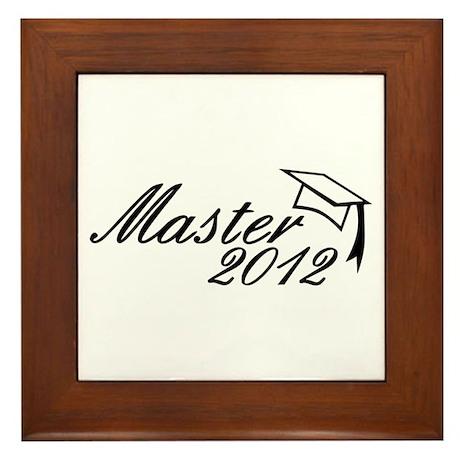 Master 2012 Framed Tile