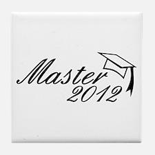 Master 2012 Tile Coaster