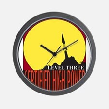 Certified High Power Level Th Wall Clock