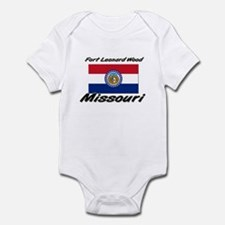 Fort Leonard Wood Missouri Infant Bodysuit