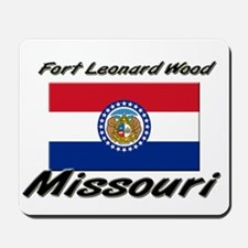 Fort Leonard Wood Missouri Mousepad