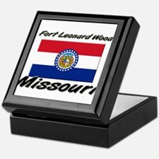 Fort Leonard Wood Missouri Keepsake Box