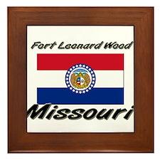 Fort Leonard Wood Missouri Framed Tile