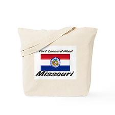 Fort Leonard Wood Missouri Tote Bag